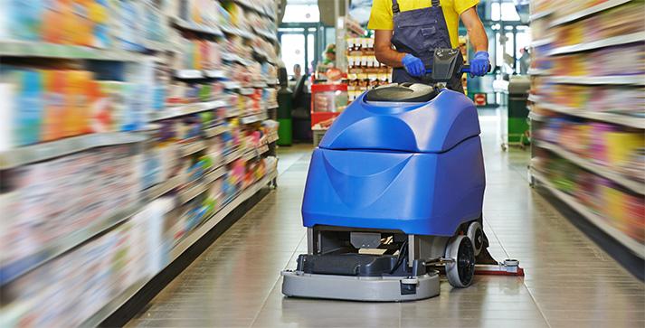 Industrial Floor Cleaning